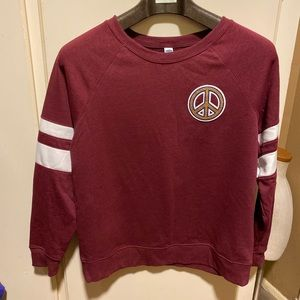 Old Navy Peace Sweater size Large NWT